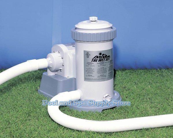 Intex 1500 Gph Above Ground Pool Filter Pump 56635e