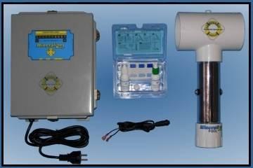 Copper silver ion generator model m403 for Copper silver ionization system swimming pool