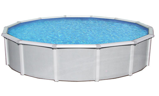 Samoan Round Above Ground Pool 52 Quot Deep With 8 Quot Top Rail